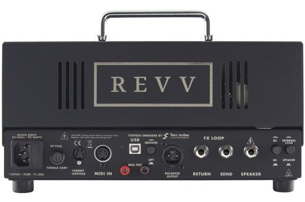 Revv D20 Amp Head - 1x opened box