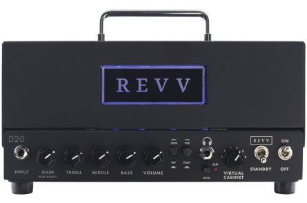 Revv D20 Amp Head - b-stock (1x opened box)