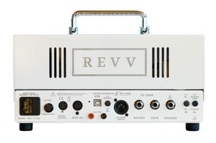 Revv D20 White Amp Head