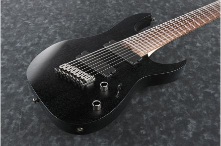 Ibanez RGIM8MH WK Iron Label - Weathered Black