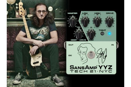 Tech 21 USA SansAmp YYZ - Geddy Lee Signature - b-stock (1x opened box)