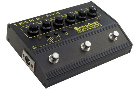 Tech 21 USA SansAmp Bass Driver D.I. Programmable - b-stock (1x opened box)