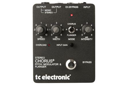 TC Electronic SCF Classic Analog Stereo Chorus / Flanger / Pitch Modulator