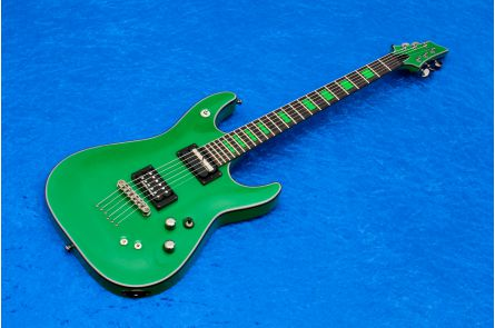 Schecter Kenny Hickey Signature C-1 EX Sustainiac SG - Steele Green