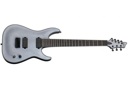 Schecter Keith Merrow KM-7 TWS - Trans White Satin