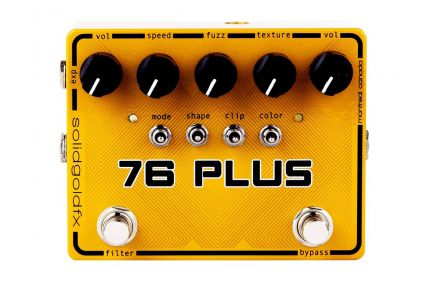 SolidGoldFX 76 Plus - Octave-up Fuzz & Filter