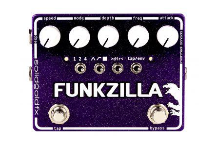 SolidGoldFX Funkzilla - Tap Tempo Envelope Filter