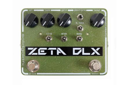 SolidGoldFX Zeta DLX - Deluxe Guitar Preamp / Overdrive / Boost