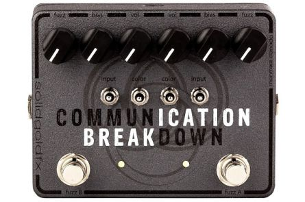SolidGoldFX Communication Breakdown - Dual Fuzz
