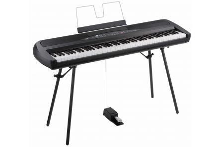 Korg Digitalpiano SP280 2x22 Watt inclusive Stand Black