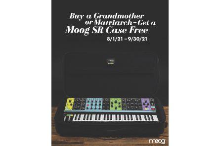 Moog Grandmother DARK + RS-SR-Softbag - Bundle Set