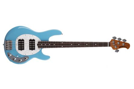 Music Man USA Stingray 4 Special HH CZ - Chopper Blue RW