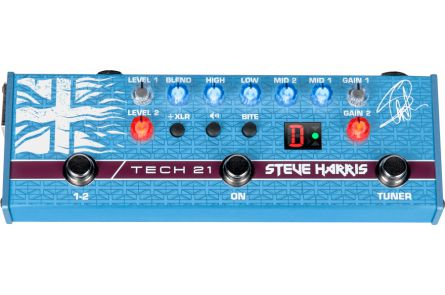Tech 21 USA SansAmp Steve Harris SH1 Signature - b-stock (1x opened box)