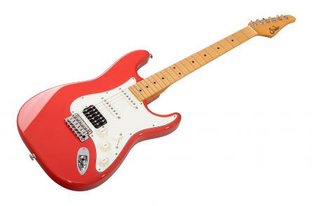 Suhr Classic Pro HSS FR - Fiesta Red MN