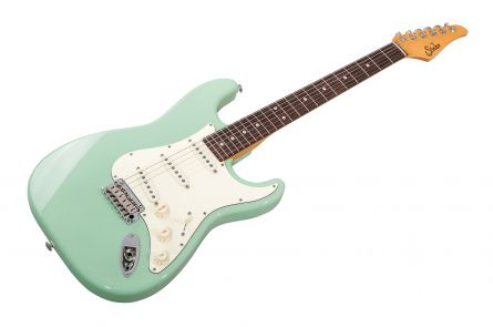 Suhr Classic S SSS SG - Surf Green RW