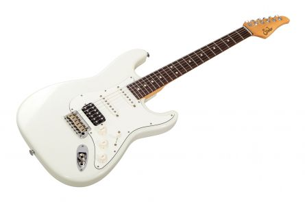 Suhr Classic S Antique HSS OW - Olympic White RW