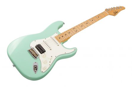Suhr Classic S Antique HSS SG - Surf Green MN