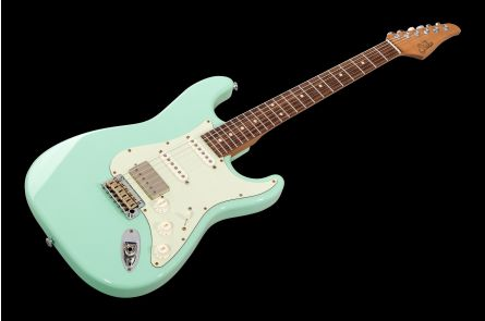 Suhr Classic S Antique Roasted HSS SG - Surf Green RW