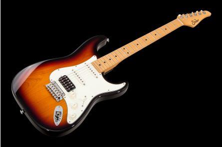 Suhr Classic S HSS 3TB - 3 Tone Burst MN