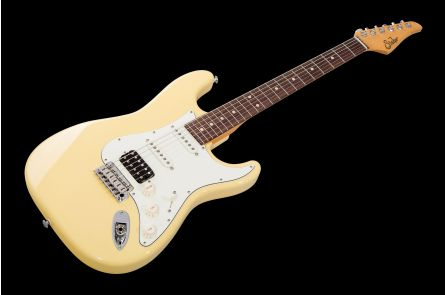 Suhr Classic S HSS VY - Vintage Yellow RW