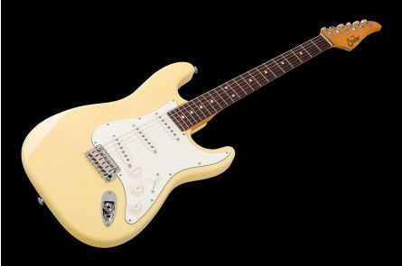 Suhr Classic S SSS VY - Vintage Yellow RW