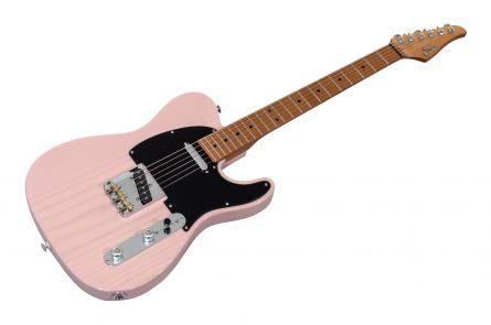 Suhr Classic T Paulownia SS Ltd TSP - Trans Shell Pink MN
