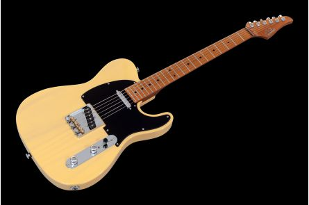 Suhr Classic T Paulownia SS Ltd TVY - Trans Vintage Yellow MN