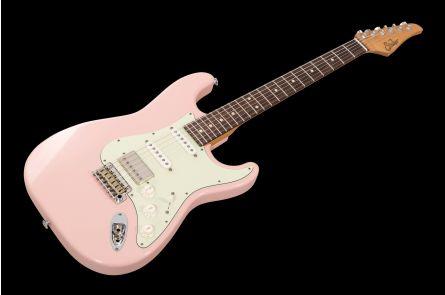 Suhr Mateus Asato Signature Classic S Antique SP - Shell Pink RW