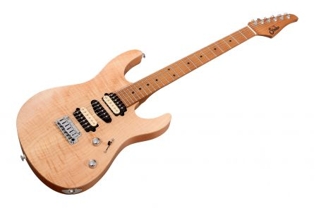 Suhr Modern Satin Flame HSH Ltd NA - Natural MN JS6C9F