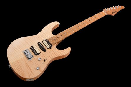 Suhr Modern Satin Flame HSH Ltd NA - Natural MN JS6D8N
