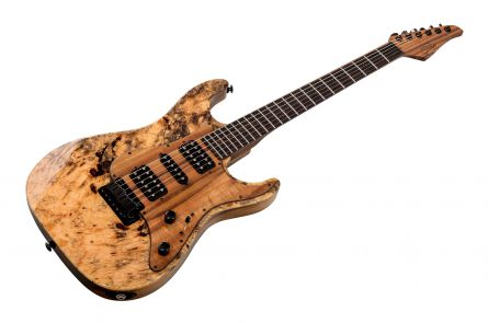 Suhr Standard Custom Shop Buckeye Burl HSH - Natural