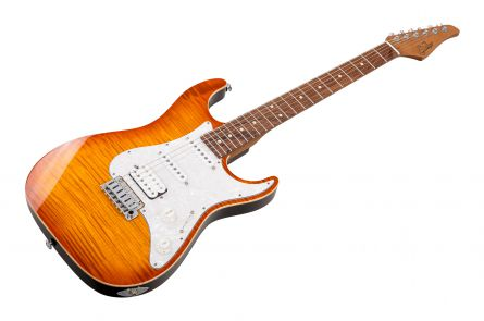 Suhr Standard Plus HSS THAB - Trans Honey Amber Burst PF