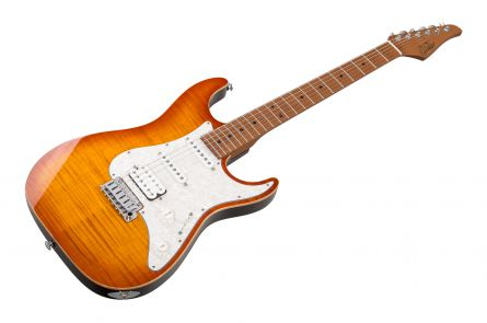 Suhr Standard Plus HSS THAB - Trans Honey Amber Burst MN