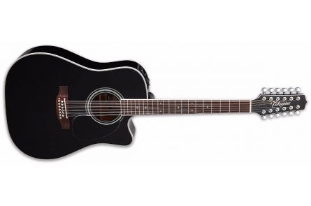 Takamine EF381SC Legacy Series - Gloss Black