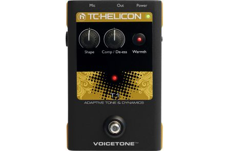 TC Helicon VoiceTone T1 Adaptive Tone & Dynamics