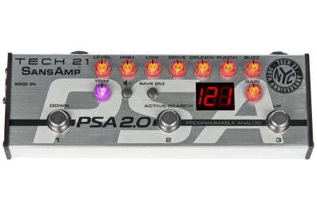 Tech 21 USA SansAmp PSA 2.0 Limited 30th Anniversary Edition