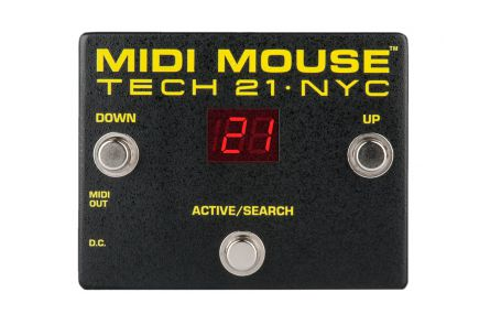 Tech 21 USA MIDI Mouse