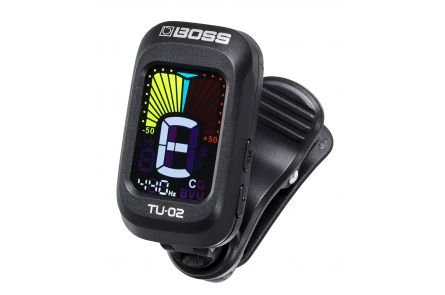 Boss TU-02 Clip-On Chromatic Tuner