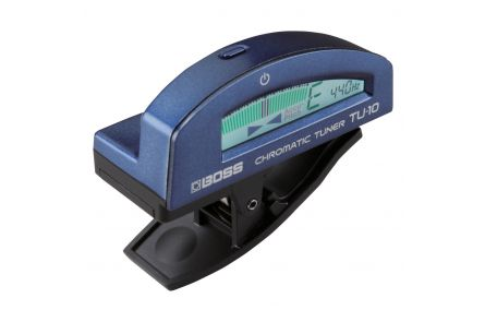 Boss TU-10-BU Clip-On Chromatic Tuner