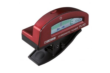 Boss TU-10-RD Clip-On Chromatic Tuner