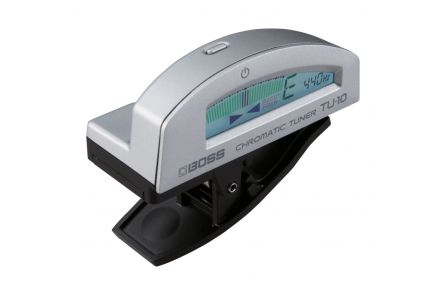 Boss TU-10-SV Clip-On Chromatic Tuner