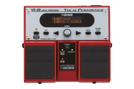 Boss VE-20 Vocal Performer - 1x opened box