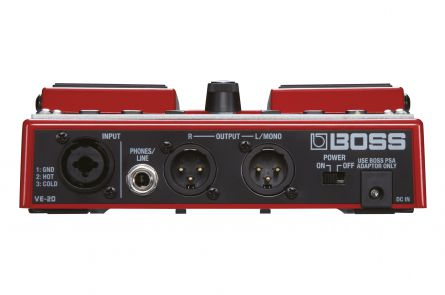 Boss VE-20 Vocal Performer - b-stock (1x opened box)