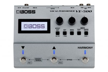 Boss VE-500 Vocal Performer - 1x opened box