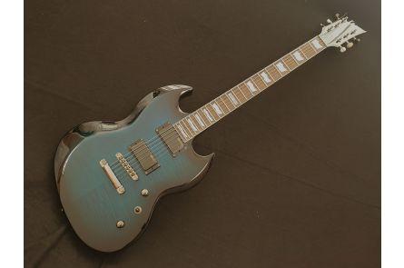 ESP Ltd Viper-330FM STBSB - See Thru Blue Sunburst