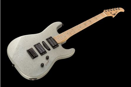 Wayne Charvel USA Rock Legend Custom Strat HSH - Structured Grey