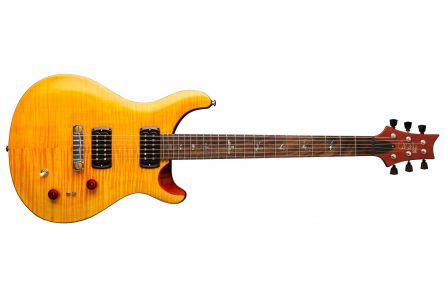 PRS SE Paul's Guitar AB - Amber w/ Tobacco Back
