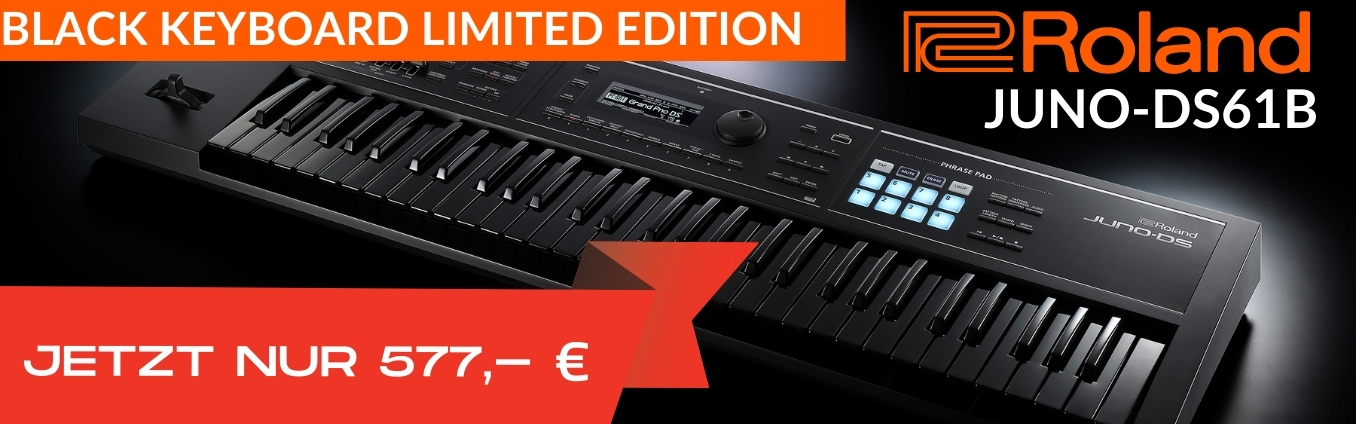 Roland Juno-DS61B Black Edition